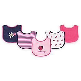 BabyVision® Luvable Friends® 5-Pack Lady Bug Bib Set in Pink