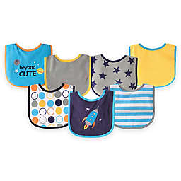 BabyVision® Luvable Friends® 7-Pack Applique Bib Set