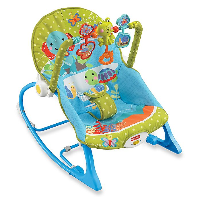 Fisher Price Elephant Friends Infant To Toddler Rocker