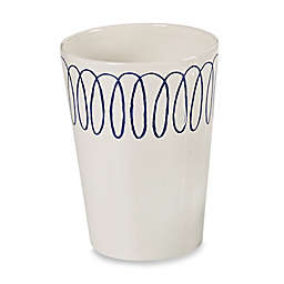 kate spade new york Charlotte Street Wastebasket in White