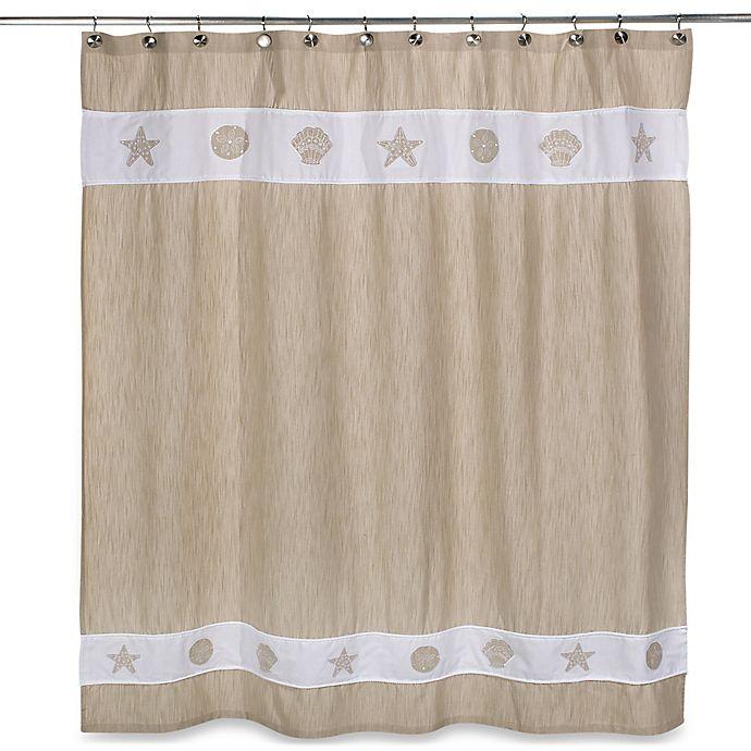 Seaside Bliss Shower Curtain