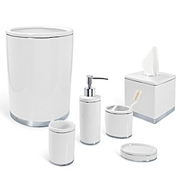 Geori Platinum Ceramic Bath Ensemble