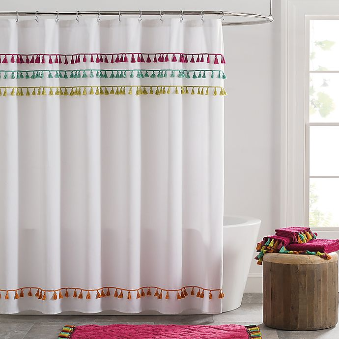 Tassels Shower Curtain