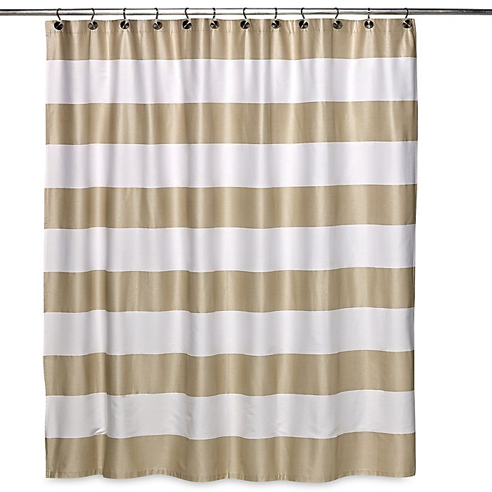 Caro Homes Avenue Stripe Shower Curtain