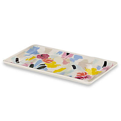 kate spade new york Paintball Floral Tray