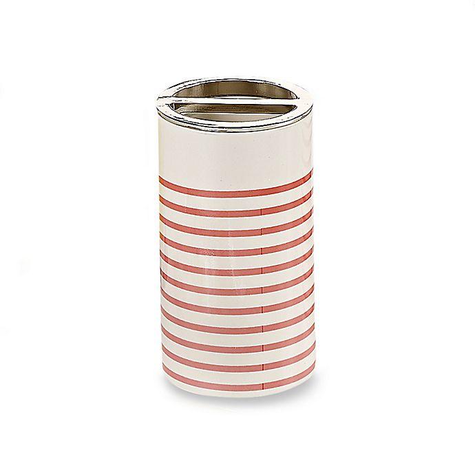 Alternate image 1 for kate spade new york Paintball Floral Toothbrush Holder