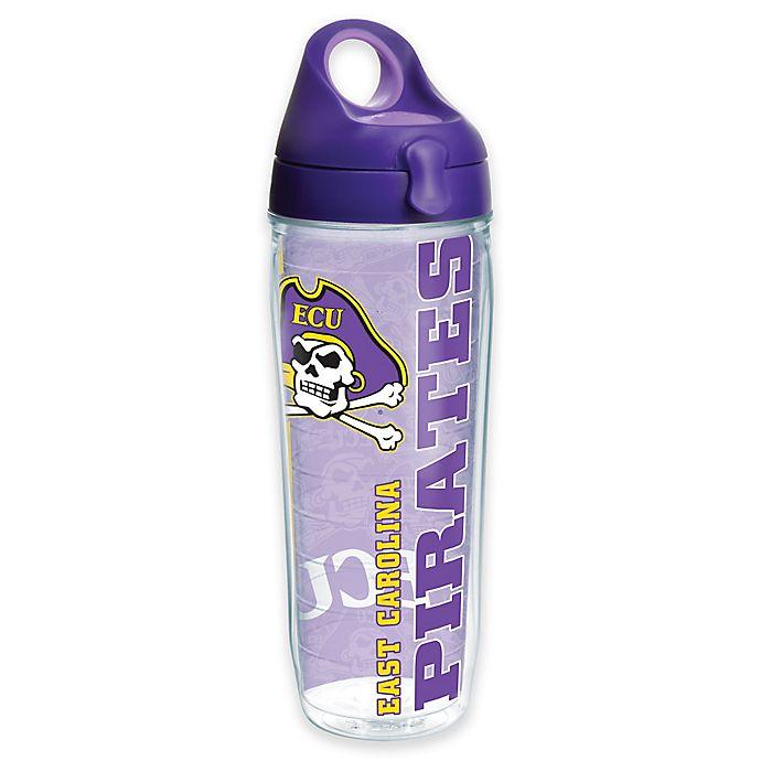 Alternate image 1 for Tervis® East Carolina University Pirates 24 oz. Pride Wrap Water Bottle