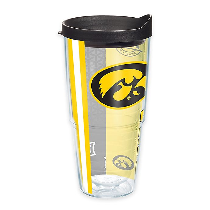 Alternate image 1 for Tervis® University of Iowa Hawkeyes 24 oz. Pride Wrap with Lid