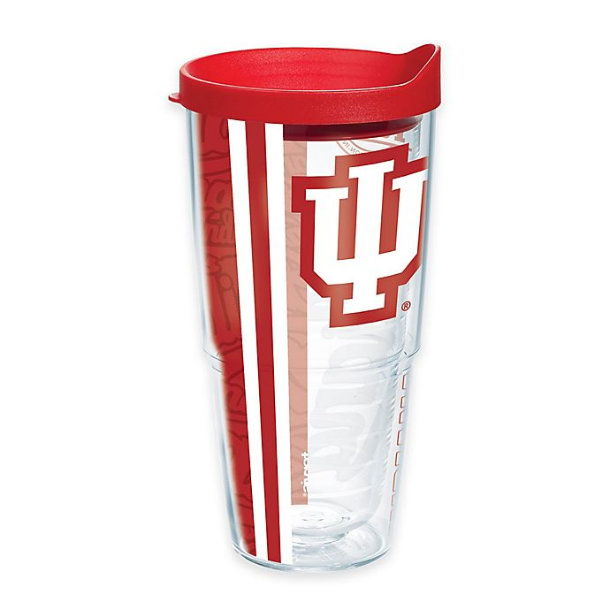 Alternate image 1 for Tervis® Indiana University Hoosiers 24 oz. Pride Wrap with Lid