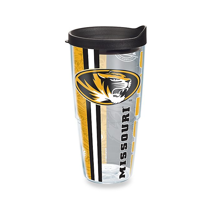 Alternate image 1 for Tervis® University of Missouri Tigers24 oz. Pride Wrap with Lid