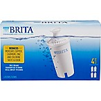 Brita® 4-Pack Replacement Filters