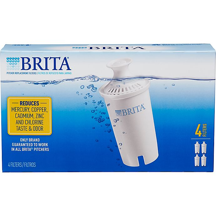 Alternate image 1 for Brita® 4-Pack Replacement Filters