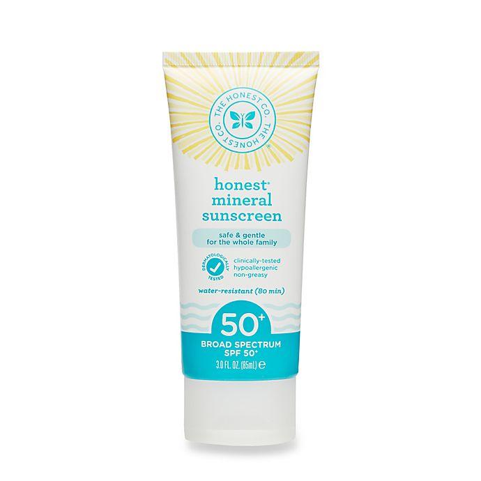 Alternate image 1 for Honest 3 oz. Mineral Sunscreen SPF 50+