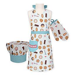 Milk & Cookies Kid's 3-Piece Apron Set