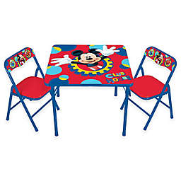Mickey Mouse 3-Piece Activity Table and Chairs Set