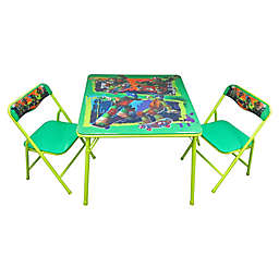 TMNT 3-Piece Activity Table and Chairs Set