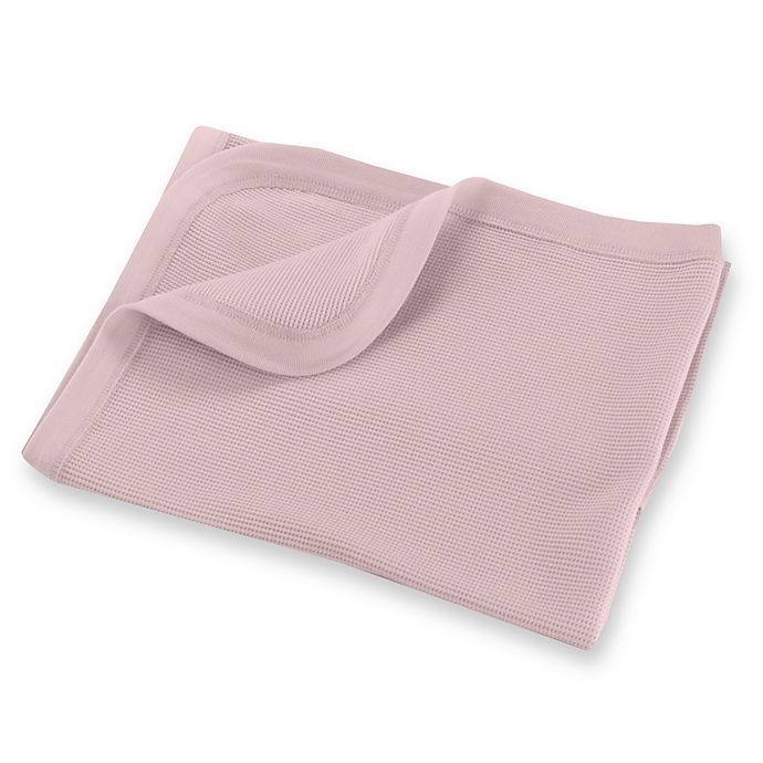 Alternate image 1 for bb Basics Thermal Receiving Blanket in Pink