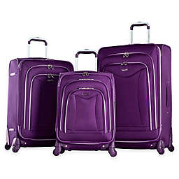 Olympia® USA Luxe 3-Piece 4-Wheel Expandable Spinner Luggage Set