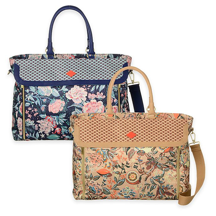 Oilily® Spring Blossom Office Bag   Bed Bath   Beyond 533c2cecc3