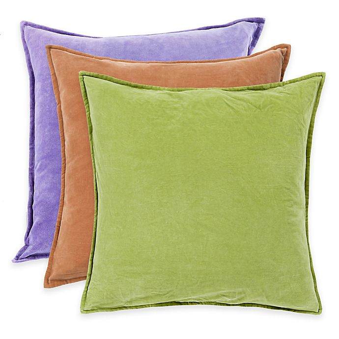 Alternate image 1 for Surya Velizh 20-Inch Square Throw Pillow