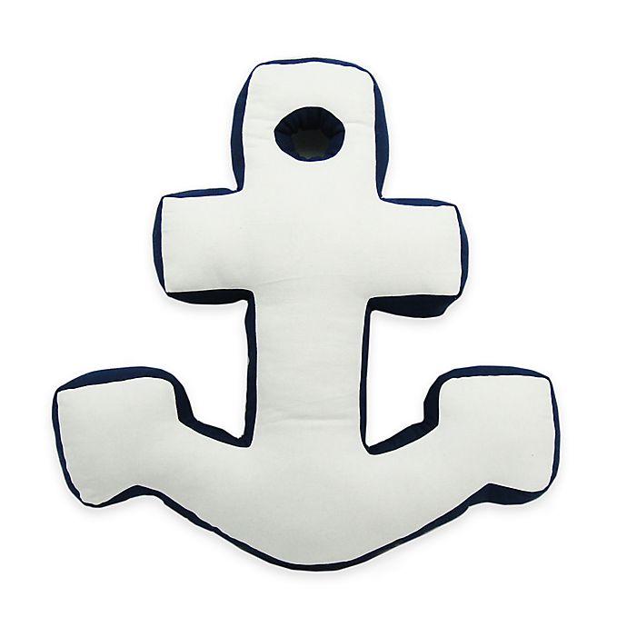 Alternate image 1 for Newport Anchor Shape Throw Pillow