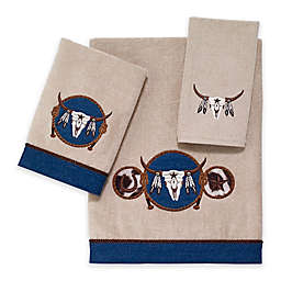 Avanti Longhorn Bath Towel in Linen