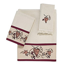 Avanti Hearts & Stars Bath Towel Collection