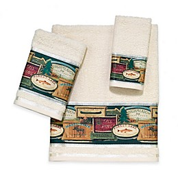 Avanti Rather Be Fishing Bath Towel Collection