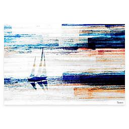 Parvez Taj Aegean Sea 24-Inch x 16-Inch Canvas Wall Art