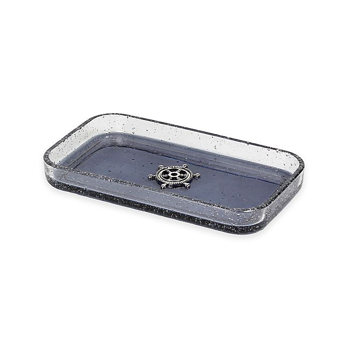 Alternate image 1 for Lamont Home® Anchors Ombre Bubble Glass Tray