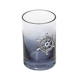 Lamont Home® Anchors Ombré Bubble Glass Tumbler