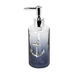 Lamont Home® Anchors Ombré Bubble Glass Lotion Dispenser