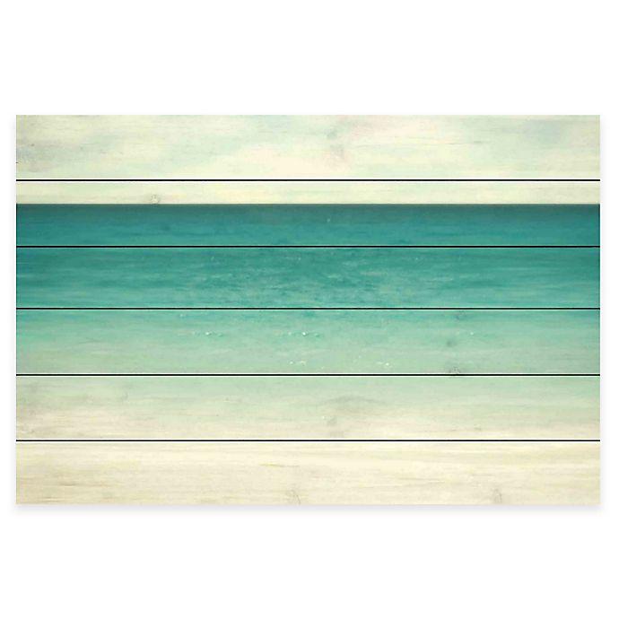 Alternate image 1 for Marmont Hill Wonderful World White Wood Wall Art