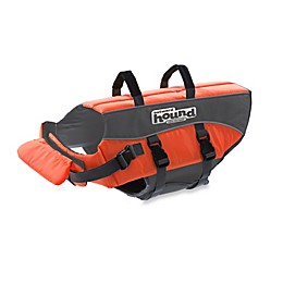 Ripstop Adjustable Life Jacket for Dogs in Orange