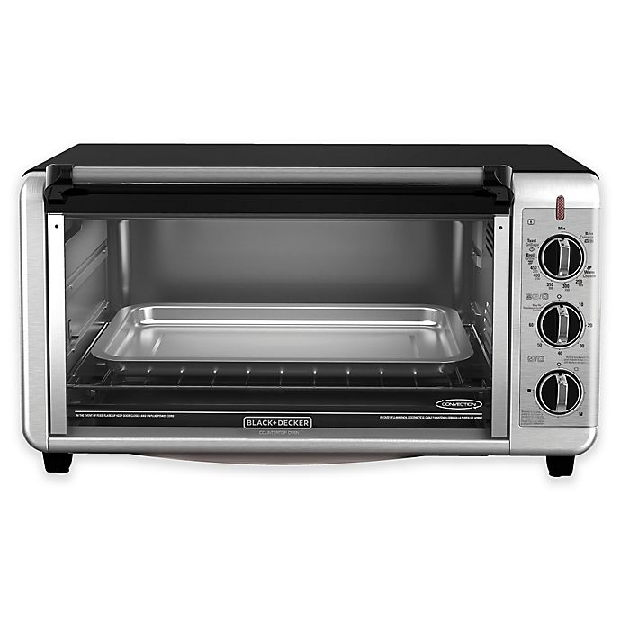 Alternate image 1 for Black + Decker™ Extra-Wide Toaster Oven