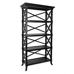 Wayborn Charter 4-Shelf Bookcase