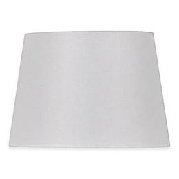 Adesso® Paris 10-Inch Linen Textured Fabric Drum Lamp Shade in Blue