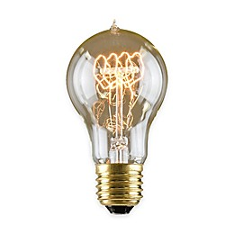 Lumin by Luminance Nostalgia Era 10-Pack 60-Watt Incandescent Bulb in Amber