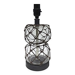 Adesso® Roped Glass Lamp Base