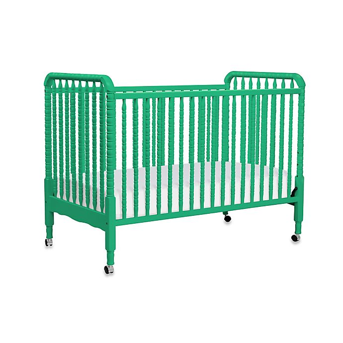 Alternate image 1 for DaVinci Jenny Lind 3-in-1 Convertible Crib in Emerald