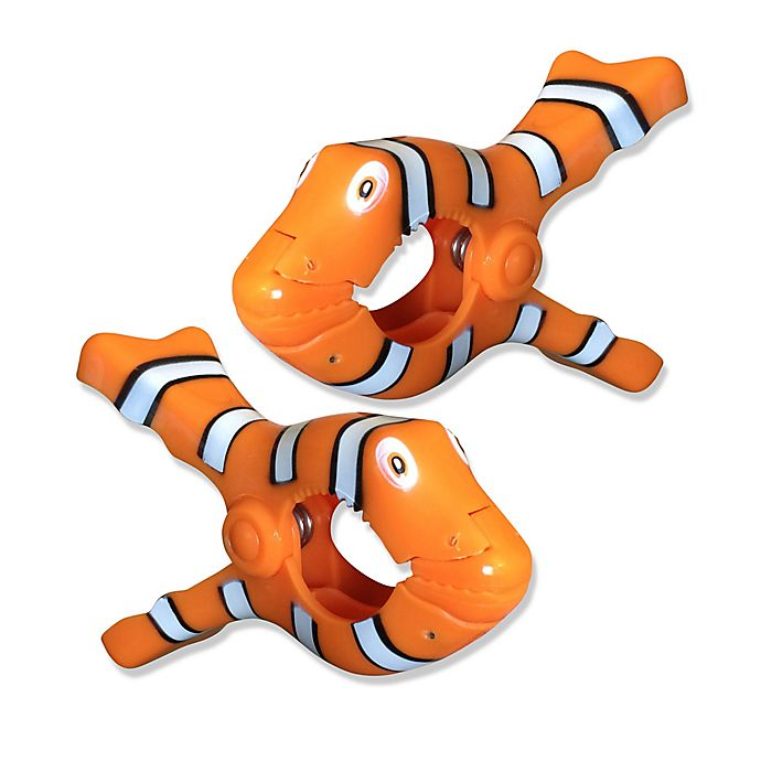 Alternate image 1 for Clown Fish Boca Clips® (Set of 2)