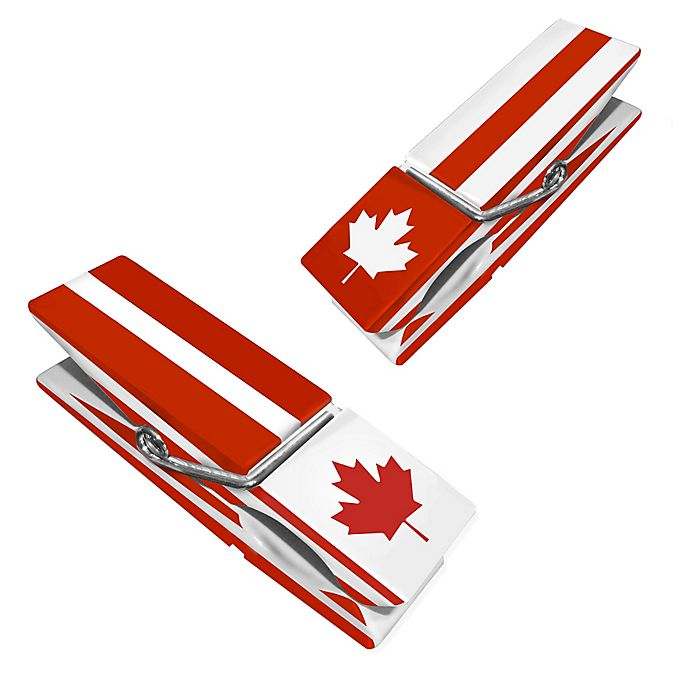 Alternate image 1 for Canada Clothespin Boca Clips® (Set of 2)