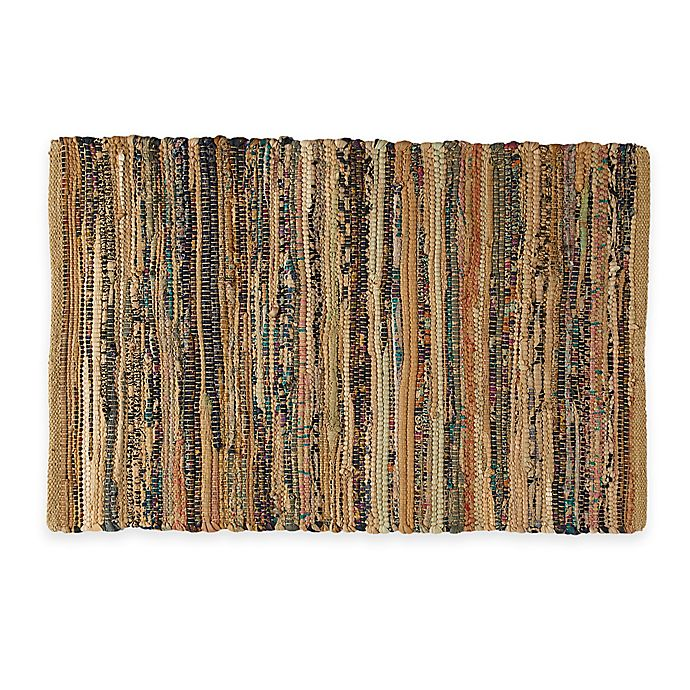 Woven Kitchen Rugs: Buy Chindi 2-Foot X 3-Foot Hand-Woven Kitchen Rug In Taupe
