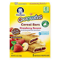 Gerber® Graduates® 8-Pack Strawberry Banana Cereal Bars