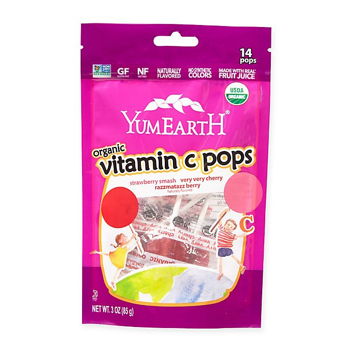 Alternate image 1 for YumEarth Organic Vitamin C Pops (Set of 14)