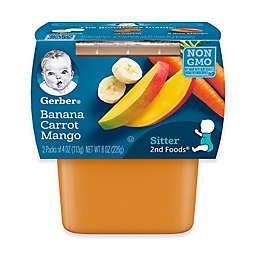 Gerber® 2nd Foods® 2-Pack 4 oz. Banana Carrot Mango