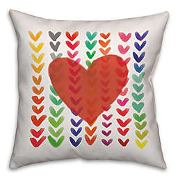Wild Hearts Throw Pillows
