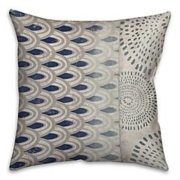 Mixed Patterns Throw Pillow