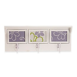 Glenna Jean Lulu 3-Opening Photo Hanger Shelf in White