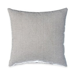 Glenna Jean Blossom Square Throw Pillow in Silver
